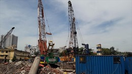Đình chỉ thi công Tổ hợp công trình 423 Minh Khai