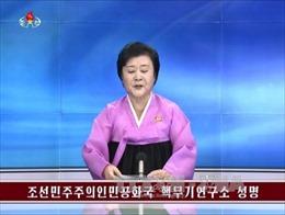 Triều Tiên đủ khả năng chế tạo tên lửa xuyên lục địa tới Mỹ vào 2020