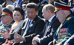 PLA thông báo Trung-Nga tập trận trên Biển Đông