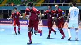 Chiến thắng lịch sử của Việt Nam ở VCK World Cup futsal