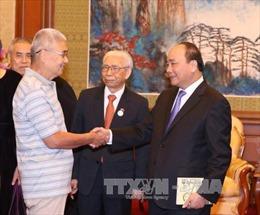 Thủ tướng tiếp Hội gia đình cựu chuyên gia Trung Quốc từng giúp VN