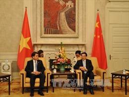 Chủ tịch Hà Nội làm việc với Thị trưởng Bắc Kinh