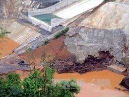 Chưa tìm được hai công nhân mất tích trong sự cố thuỷ điện Sông Bung 2