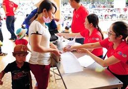 Hơn 800 trẻ được khám sàng lọc bệnh tim miễn phí