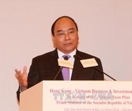 Thủ tướng dự Diễn đàn Kinh doanh và Đầu tư Việt Nam - Hong Kong
