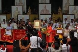 Đại lễ giỗ tổ Đức Hoằng Nghị Đại Vương nhà Trần