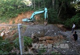 Sạt lở đất, hai công nhân thủy điện Lào Cai thiệt mạng