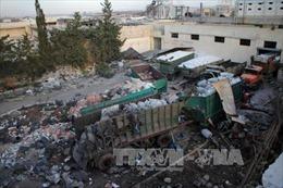 Lại không kích nhằm vào đoàn xe cứu trợ Syria