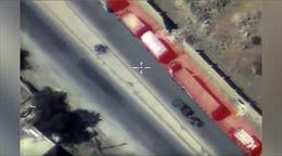 Phiến quân IS dùng đoàn xe cứu trợ LHQ làm lá chắn