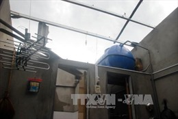 Lốc xoáy tốc mái hơn 40 ngôi nhà tại Quảng Bình