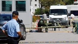 Nổ súng trước Đại sứ quán Israel tại Thổ Nhĩ Kỳ