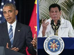 Sóng gió quan hệ Mỹ - Philippines thời ông Duterte