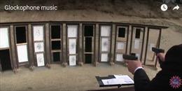 Hòa tấu nhạc Beethoven bằng... súng lục