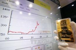 Giá vàng thế giới tiếp tục đi lên