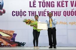Nữ sinh Việt đạt giải Nhất viết thư quốc tế UPU