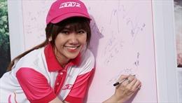 Hari Won hào hứng chạy bộ từ thiện cùng hơn 10.000 người