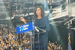 Đệ nhất Phu nhân Mỹ Michelle Obama chê ông Trump đầy thâm thúy