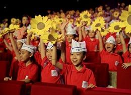 Hơn 2.000 học sinh tham gia Cầu truyền hình sữa học đường