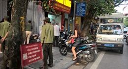 Hà Nội đề xuất dùng camera để phạt nguội lấn chiếm lòng đường, vỉa hè