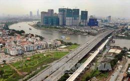 Hợp long cầu Sài Gòn dự án metro số 1