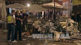 Nổ lớn tại hội chợ ở Tây Ban Nha, ít nhất 77 người bị thương