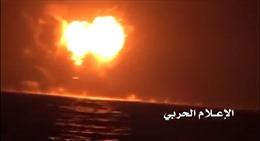 Phiến quân Houthi ra đòn tàn ác vào tàu quân sự UAE