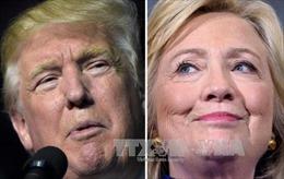 """Ông Trump và bà Clinton """"kéo co"""" tại Florida, Ohio và Arizona"""