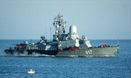 Nga điều thêm tàu chiến đến Địa Trung Hải đánh IS