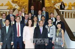 Thủ tướng Nguyễn Xuân Phúc tiếp Bộ trưởng Thương mại Thụy Điển