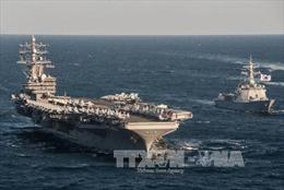 Mỹ điều tàu sân bay hạt nhân tới Hàn Quốc tập trận