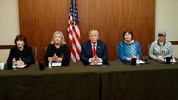 Ông Trump phản pháo: Những phụ nữ tố ông Clinton bất ngờ xuất hiện
