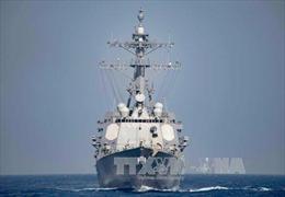 Iran triển khai tàu chiến ngoài khơi Yemen