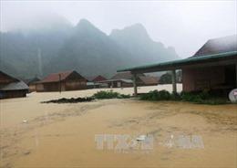 Hình ảnh mưa lũ gây thiệt hại nặng nề tại Quảng Bình