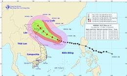 Vịnh Bắc bộ và Bắc Biển Đông có gió giật cấp 8-9, biển động mạnh