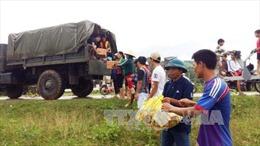Hỗ trợ Quảng Bình 1.500 tấn gạo cứu trợ hộ dân vùng ngập lũ