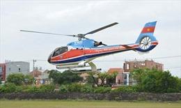 Xác định khu vực máy bay trực thăng rơi