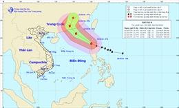 Bão Haima vào Biển Đông trở thành cơn bão số 8