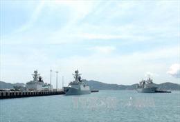 3 tàu Hải quân Trung Quốc thăm cảng Cam Ranh