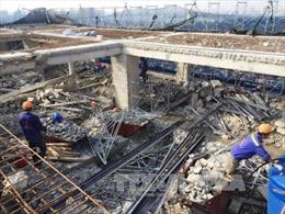 Hà Nội hoàn thành phá dỡ giai đoạn 1 tòa nhà 8B Lê Trực