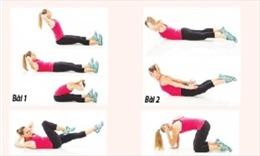6 bài tập chữa đau lưng hiệu quả