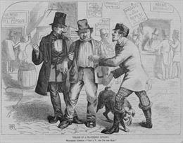Những chiêu gian lận trong bầu cử Mỹ những năm 1880