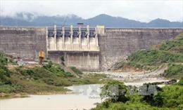 Từ 20h ngày 2/11, Thủy điện Sông Tranh 2 bắt đầu xả tràn nước