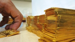 Giá vàng biến động mạnh, giao dịch vẫn èo uột