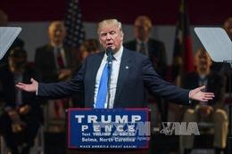 Ông Trump kêu gọi cử tri quay lưng với đối thủ Clinton