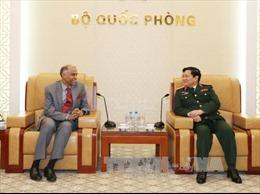 Đại tướng Ngô Xuân Lịch tiếp Đại sứ Ấn Độ