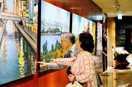 Triển lãm tranh phong cảnh Nhật Bản của họa sỹ Phạm Luận