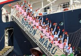 Tàu thanh niên Đông Nam Á đến Thành phố Hồ Chí Minh