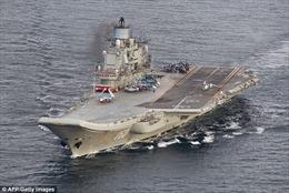 Đội tàu chiến Nga đã có mặt ngoài khơi Syria