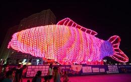 Lễ hội đèn lồng khổng lồ Việt Nam- Hàn Quốc 2016