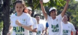 """8.000 người cùng """"Chạy vì trái tim"""" tại Hà Nội"""
